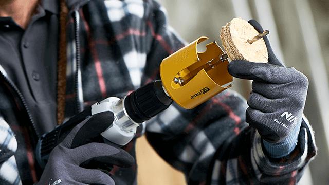 De vier grote voordelen van het gepatenteerde Click & Drill® systeem